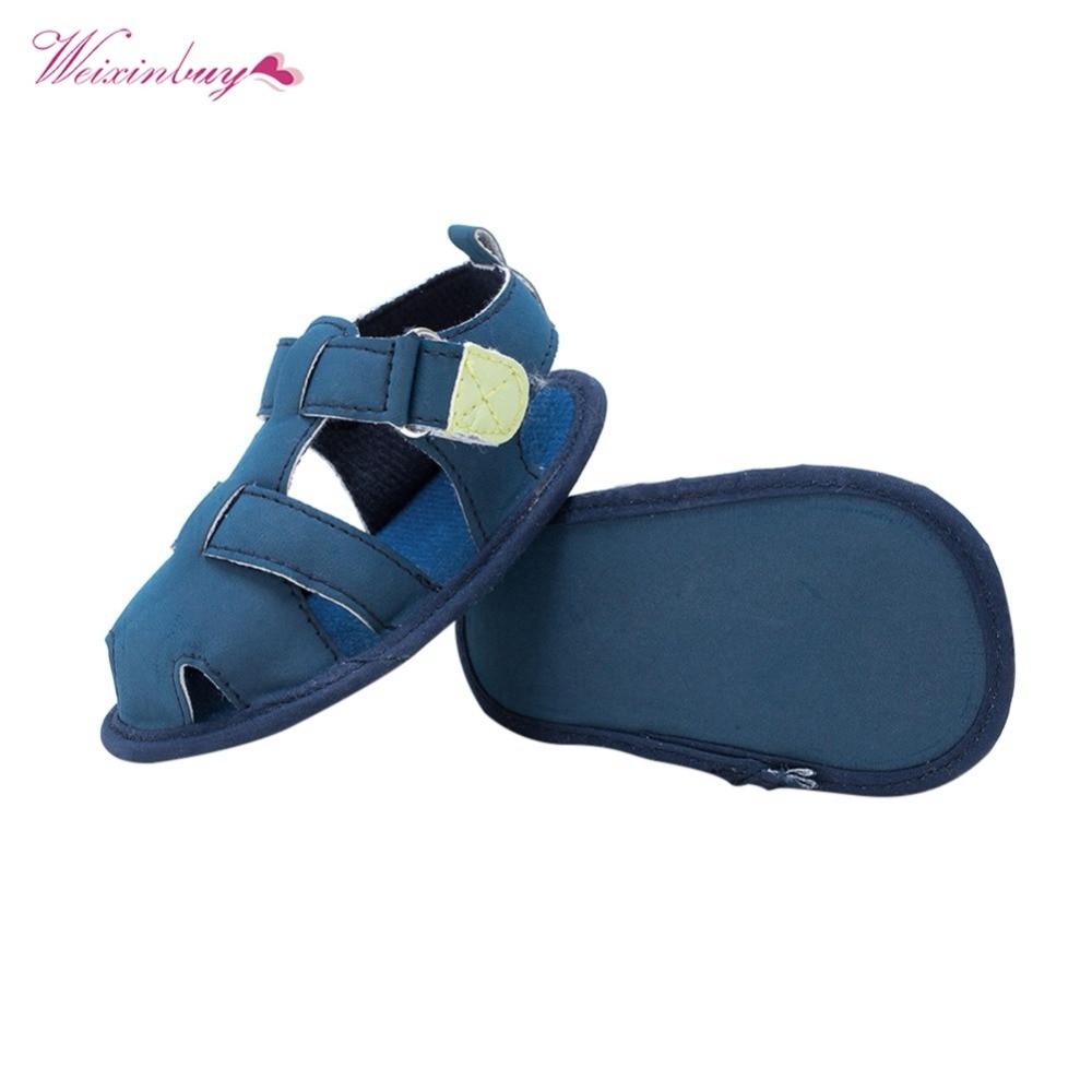 Toddler Shoes For kids Boy Sandals Baby Summer Sandals Infant Crib Shoes Prewalker 0-18 Months Baby Sandals