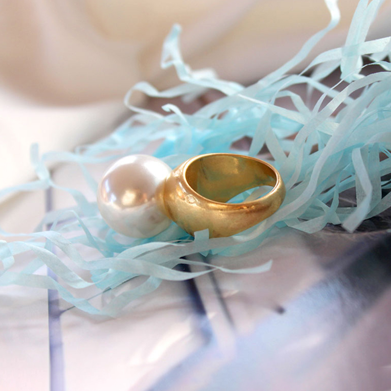 Round Pearl Ring  3