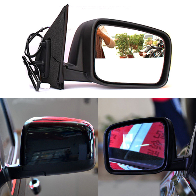 For Nissan X-Trail Side Mirror Cover Cup 2007-2010 Right Black