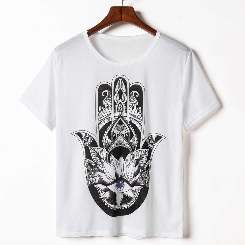 CDJLFH футболка 2019 Новинка Harajuku с принтом белые женские футболки повседневные футболки летние женские футболки с коротким рукавом женская одежда