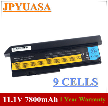 7XINbox 11 1V 43R9254 42T4537 42T4541 42T4536 42T4538 42T4649 baterii dla Lenovo ThinkPad X200 7454X200 s X201 X201s X201i tanie i dobre opinie Li-ion 9 Komórki