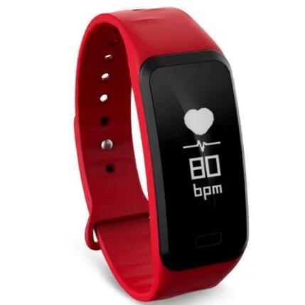 Smart band R1 Smart bracelet Heart rate blood pressure pedometer Smart Wristband Fitness bracelet Activity Tracker PK mi band 2