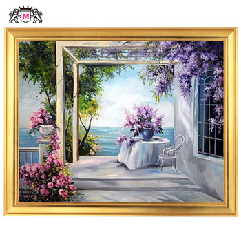 Golden panno,Needlework,Embroidery,DIY Landscape Painting,Cross stitch,kits,14ct Vases  Cross-stitch,Sets For Embroidery