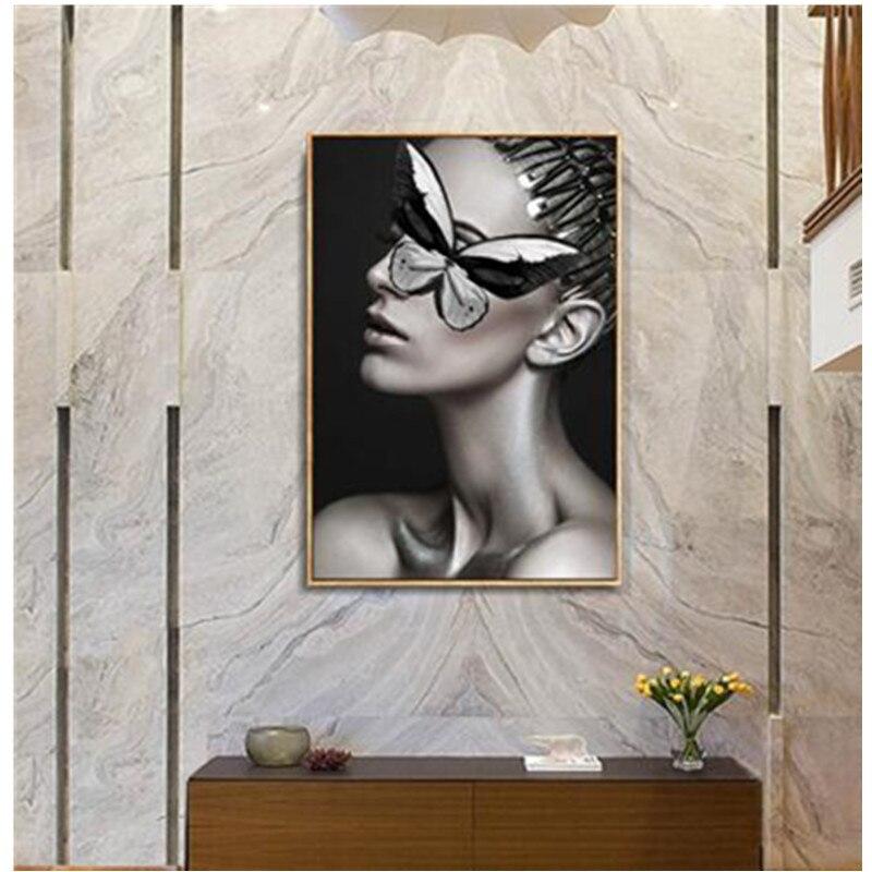 Bricolage à la mode diamant peinture rose fleur filles nouveau Style fantaisie dame artisanat mosaïque Arts Kits-MS01