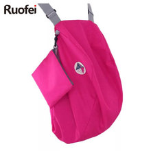 New Arrivel Multi-functional folding shoulder bag backpack large capacity ladies