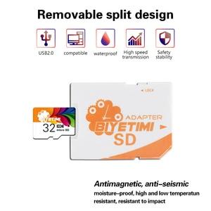 Image 5 - Biyetimi זיכרון כרטיס מיקרו SD כרטיס 8g 16g 32g 64g מיני tf כרטיס class 10 אמיתי קיבולת פלאש כרטיס עבור Smartphone