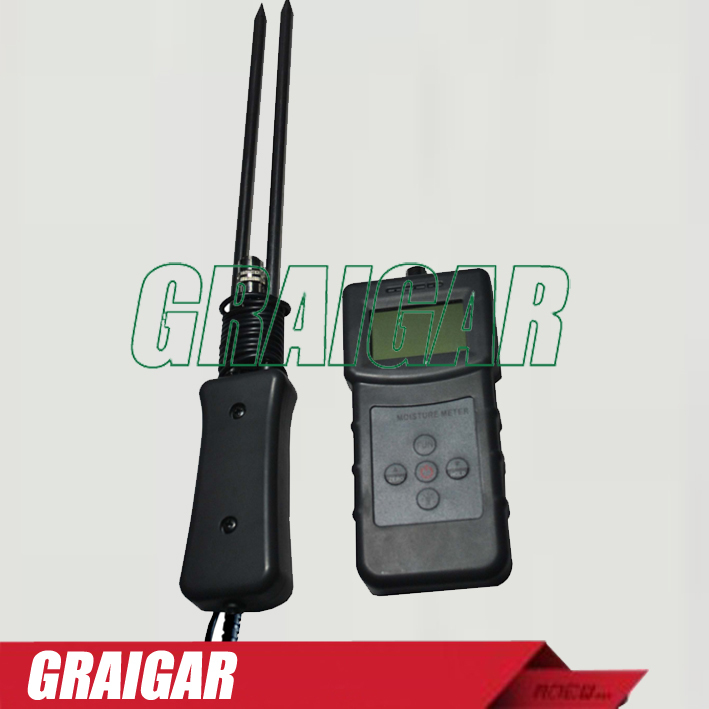 Multifunctional Grain Moisture Meter MS-G test for Barley, Corn,Hay,Oats,Rapeseed,Rough Rice,Sorghum,Soybeans and Wheat multifunctional grain moisture meter ms g test for barley corn hay oats rapeseed rough rice sorghum soybeans and wheat