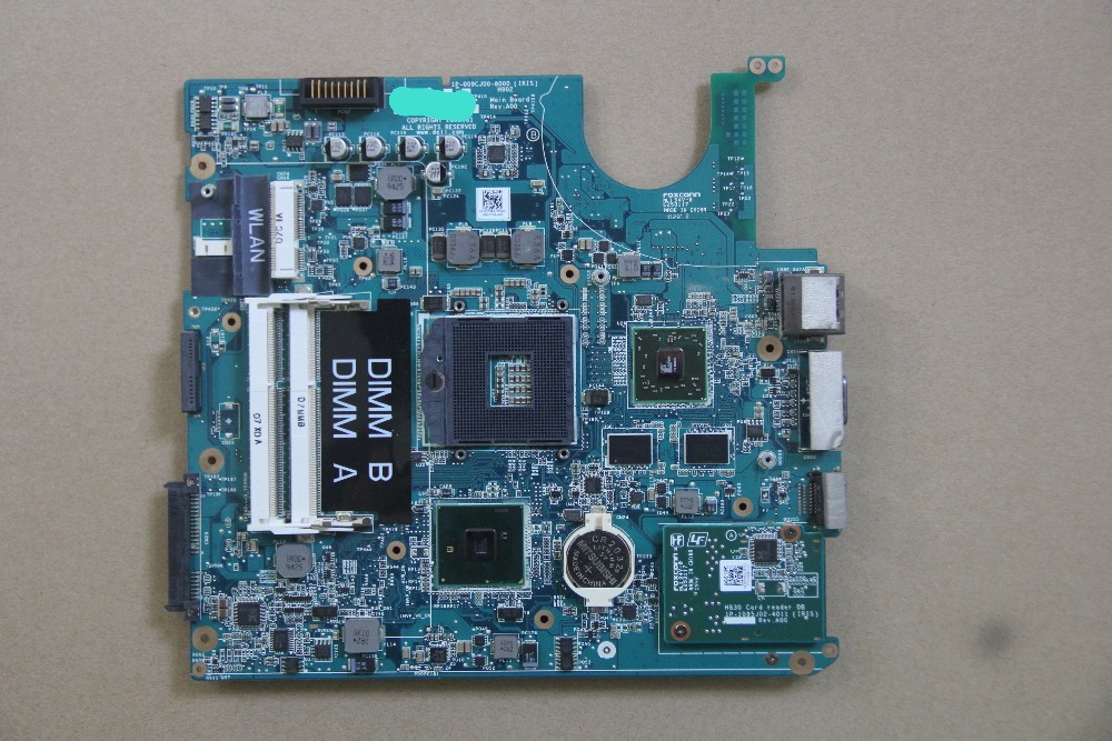 CN-0205RN 0205RN 205RN For DELL Studio 1458 S1458 Laptop motherboard 1P-009CJ00-8000 with 216-0774009 GPU Onboard HM55 DDR3 100% test very good product 216 0774009 216 0774009 bga chip reball with balls ic chips