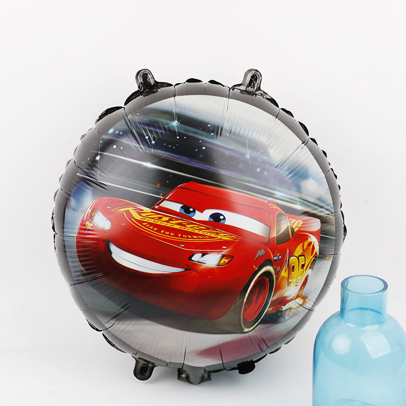 1pc racing car foil balloons 18inch cute car wedding birthday party decorations kids gifts supplies boy toys cars ball