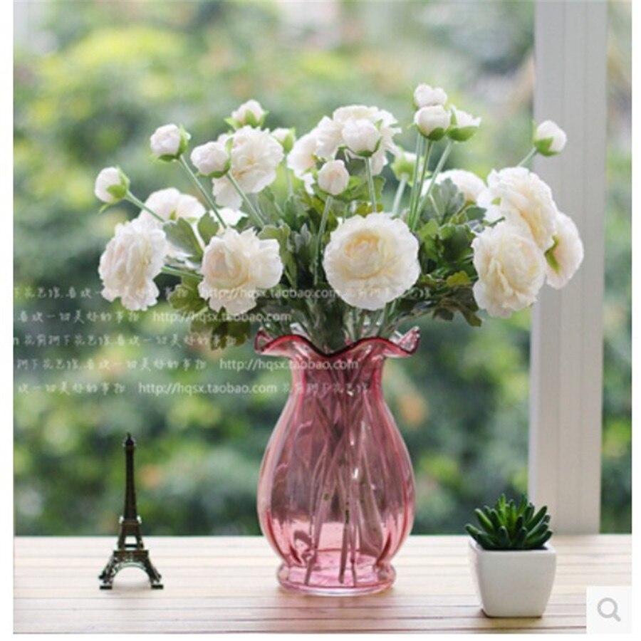 10 pcs/lot) Wholesale festive supplies artificial rose decoraive ...