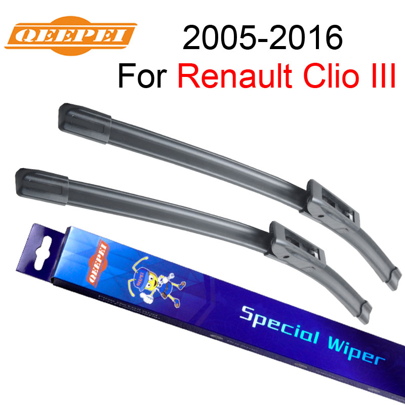QEEPEI Windscreen Wiper For Renault Clio 3 2005-2013 24''+16'' Car Accessories Auto Windshield Wipers Blade Prices,CPD103-2