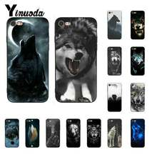 Yinuoda CLASSIC Cool Wolf Hipster พิมพ์ HOLSTER ใหม่สำหรับ iPhone8 7 6 6S 6Plus X XSMAX 5 5S SE XR 11 11pro 11 PROMAX(China)