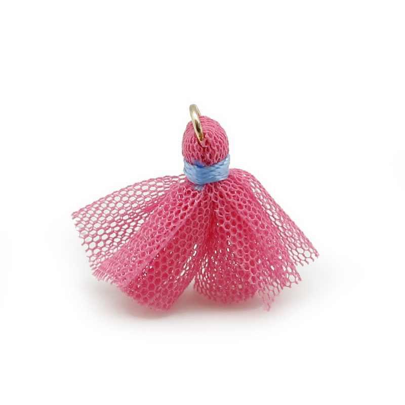 4 teile/los Charme Stoff Quaste DIY ornament Schmuck Finden verschönern Trim Mithelfer Für Armband Ohrringe Halskette Kleidung