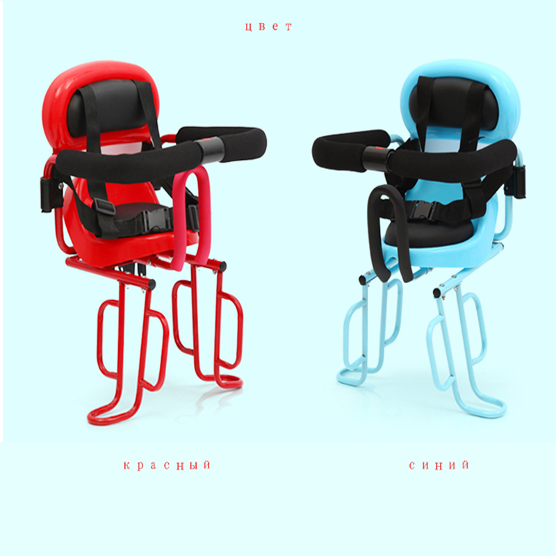 Фотография 2017 Sale Cojines Sella Carbonio Bike Parts Bicycle Child Seat Back Mat Baby Safety Electric Car Thickening Enlarge Rear Chair