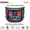 Liislee For Hyundai HB20 Stereo Android Radio DVD Player TV FM BT Wifi GPS MAP NAV