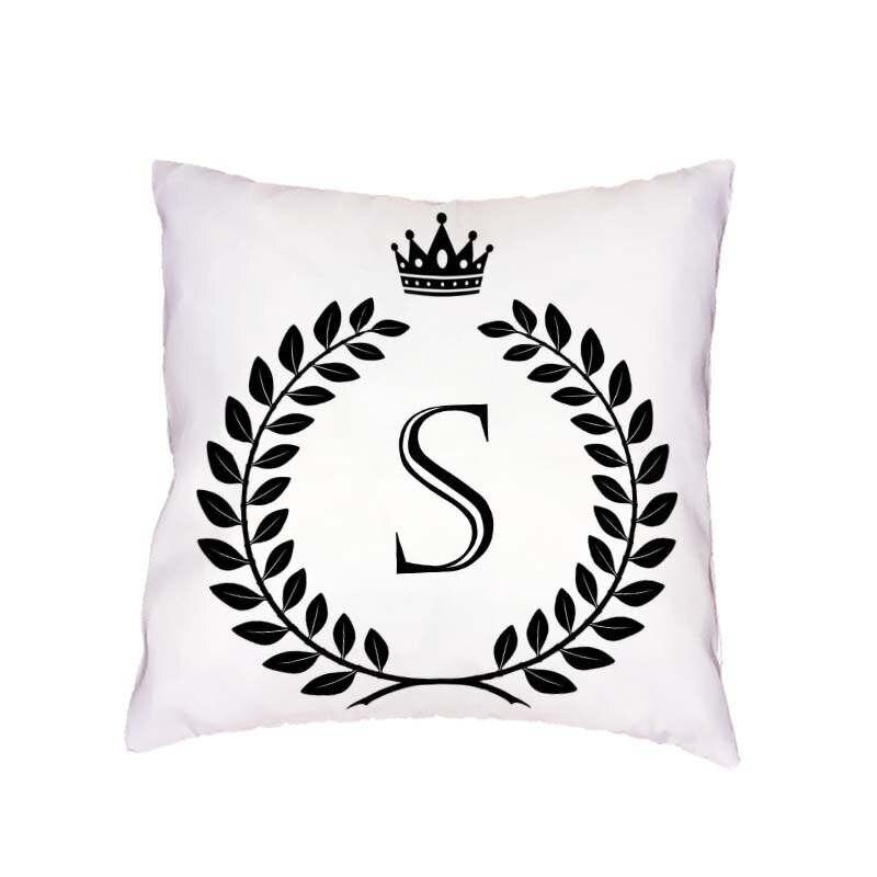 Высокое качество чехлы Корона гирлянда письмо красивый стул 45*45 см квадратный Офис диван сиденья украсить Бросьте наволочку