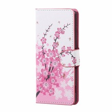 Flip Wallet PU Flower Leather Case For Asus ZenFone Go 4.5″ ZC451TG ZenFone 2 5.5″ ZenFone 5 ZE500KL ZC550KL ZenFone Max 2016