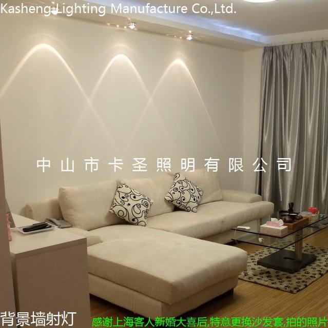 Wall Lights Led Spotlight Downlight Living Room Lamps Ceiling Light Bedroom  Lights Brief Modern Crystal Lighting