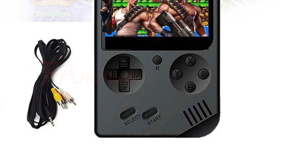 Video consola incorporada de 168 clásicos 4