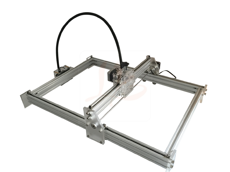 No tax ship to Russia,10w mini metal carving cnc router machine laser engraving machine 35*50cm eur free tax cnc 6040z frame of engraving and milling machine for diy cnc router