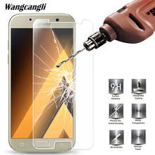 0.28mm 9H Tempered Glass For Samsung Galaxy A3 J3 J5 J7 A7 A6 A8 S6 2016 2017 2018 Screen Protector Protective Film Case Glass