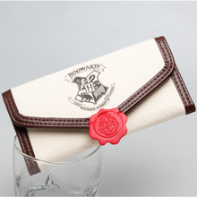 Harry Potter Hogwarts Letter Flap Wallet DFT-1903(China (Mainland))