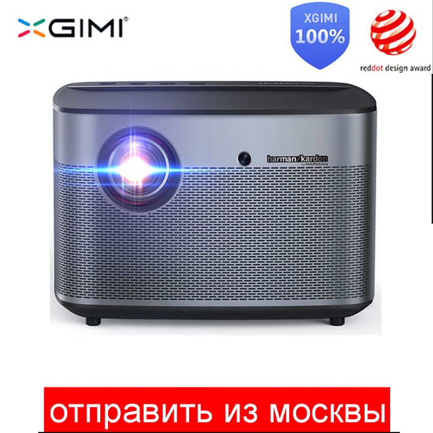 XGIMI H2 Projetor Full HD DLP 1350 ANSI Lumens 1080 p LED 3D Vídeo Bluetooth Wi-fi Android Projetor de Home Theater 4 K Beamer