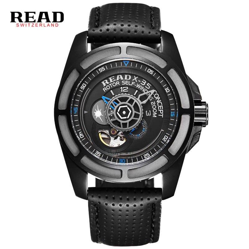 лучшая цена READ Male table man model 2 fashion luxury mechanical watches automatic mechanical movement 8090 Tourbillon