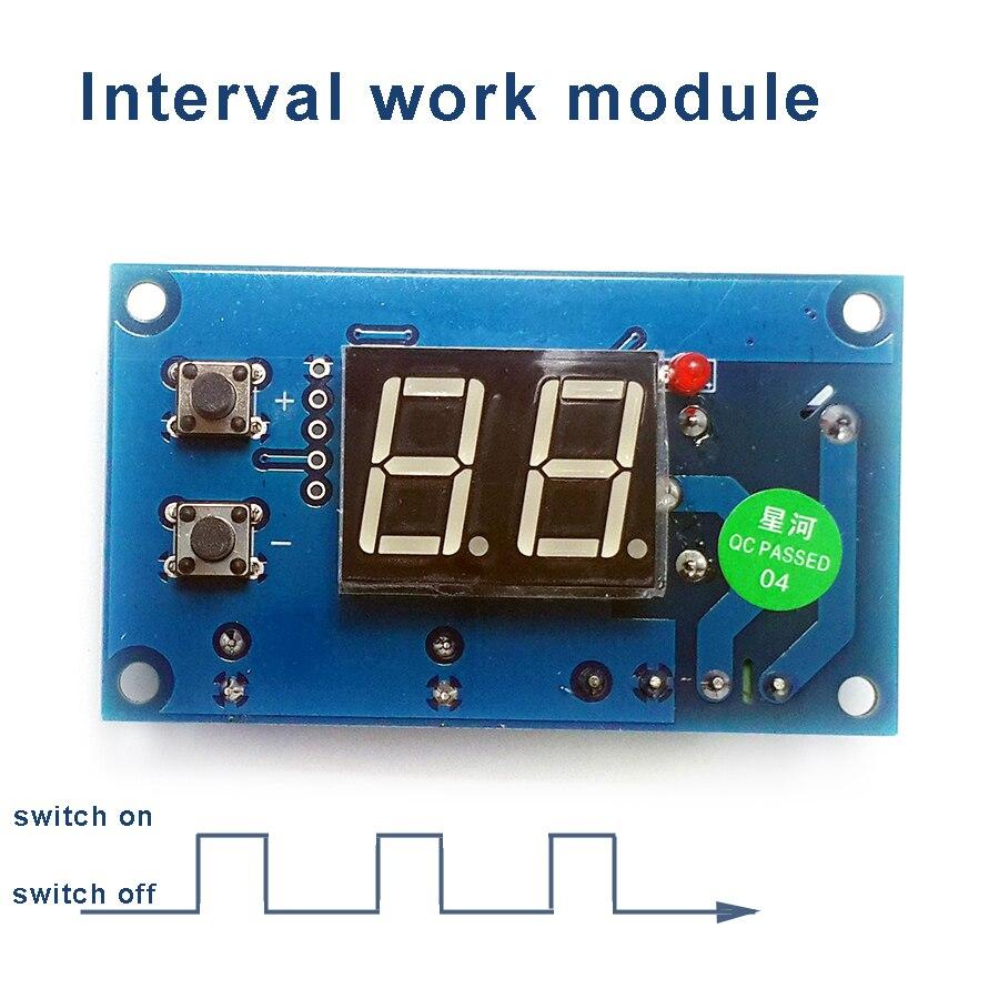 Кратковременный Рабочий модуль, 0-999 минут, время-смена рабочих модуль, прерывистый Выход переключатель, управление доска