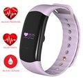 Pulseira Banda inteligente Pressão Arterial de Oxigênio Monitor de Freqüência Cardíaca ZB90 Inteligente Pulso À Prova D' Água Do Bluetooth Para iOS Android PK M2