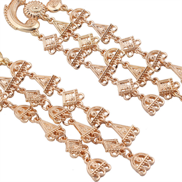 Женские серьги с кисточками lzhlq длинные сережки подвески геометрическим