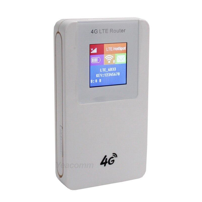 Бесплатная доставка! CAT4 150 Мбит/с разблокированный Портативный 3G 4G LTE WIFI Hotspot маршрутизатор с слотом для Sim-карты Power Bank