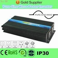 CE RoHS Approved off grid 2000watt 12 volt inverter, pure sine wave