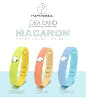 Яркий водонепроницаемый титановый спортивный браслет Macarons