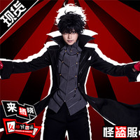 Anime Cosplay Costume THE DAY BREAKERS Joker Top+Coat+Pants Cool Style Full Sets A