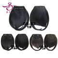 Fake Short Fringe Bang Front Clip In Hair Extensions Clip On Bangs Hairpiece Black Blonde Brown B3