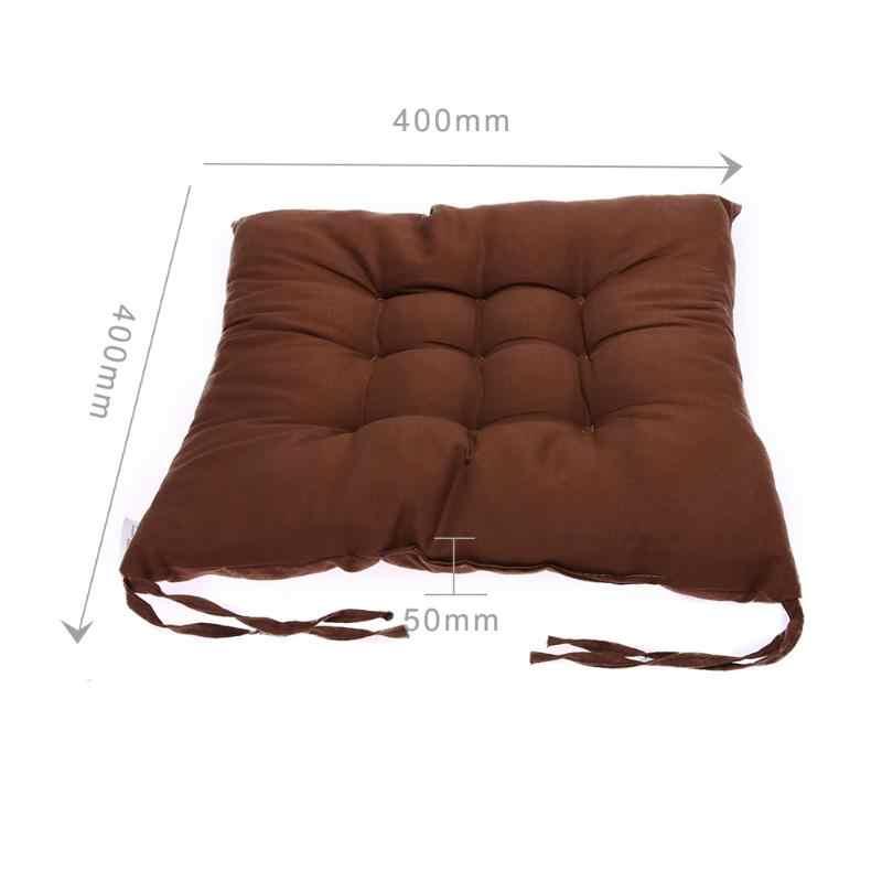 11 色シートクッション真珠綿チェアバックシートのクッションソファ枕臀部快適な椅子クッション冬のバー家の装飾