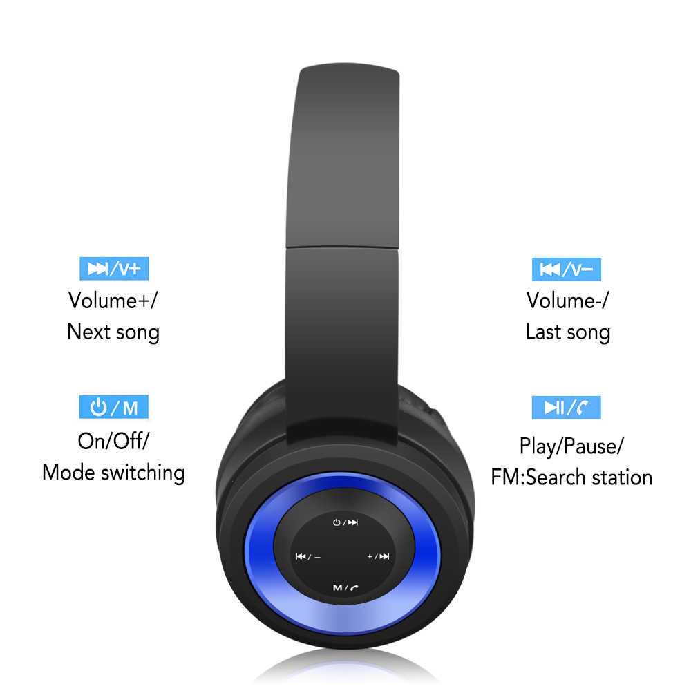 a471798c3eb ... NFUNGYK TR905 auriculares Bluetooth soporte deportivo TF FM radio para  iphone xiaomi ordenador mejor auriculares inalámbricos