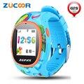 S866 SOS Relógio de Pulso Inteligente GPS WIFI WeChat Crianças Rastreador Cartão SIM GSM Celular Inteligente Relógio de Pulso Para iOS Android crianças