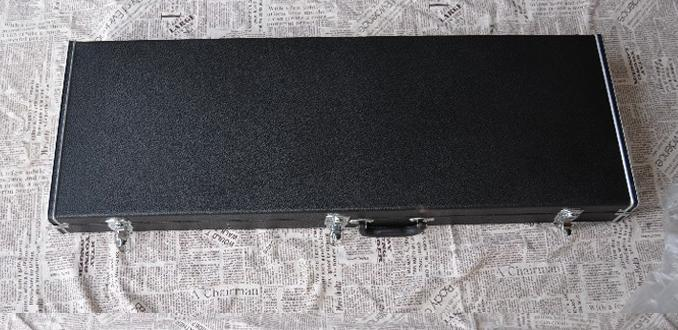 Not sold Separately ***Rectangle Black Guitar Hard Case for Bass & V Shape & Electric Guiatr