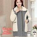 Мода для беременных пальто осень и зима новый утолщение пальто утолщение По Беременности и Родам беременных женщин куртки Корейской версии