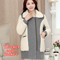 Fashion maternity coat autumn and winter new thickening coat thickening Maternity pregnant women jacket Korean version
