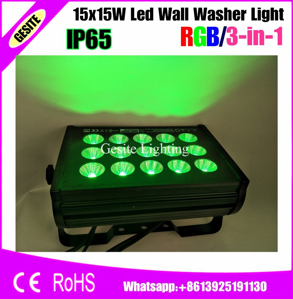 Us 598 5 Off 2pcs Lot Led Stage Lighting Fixture 15w 15pcs High Wall Washer Moving Light In Effect From Lights