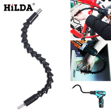"HILDA 12"" Flexible Extention Screwdriver Drill Bit Holder Free shipping Flexible bits flexible shaft drill dremel accessories(China)"