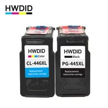 PG-445XL pg445 CL-446 xl cartucho de tinta para Canon pg 445 cl 446 compatible para Canon PIXMA MG 2440 2540 2940 MX494 MX494 IP2840