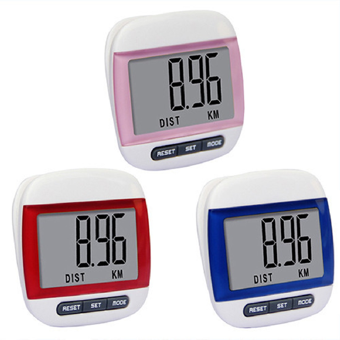 Brand New Mini Waterproof Step Movement Calories Counter Multi-Function Digital Pedometer Fitness Watch