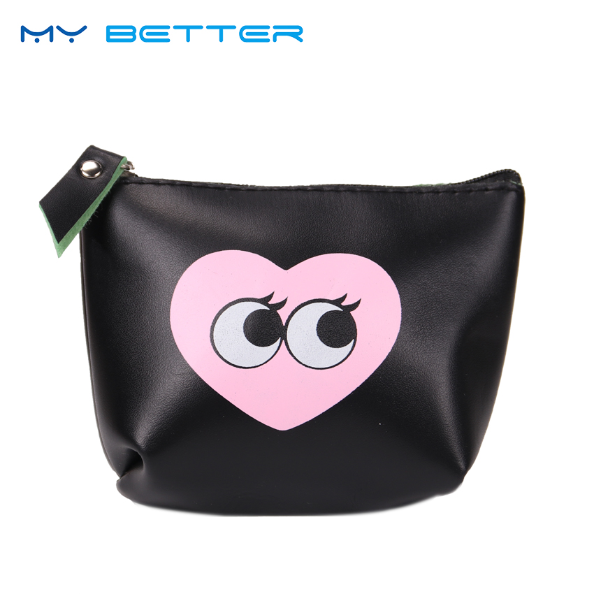 1PC Creative Coin Purse Girls Case PU Leather Zipper Key Case Bag Change Purses Gift Cute Cartoon Modern Girl new graffiti coin purse zipper pencil case cute portable key card holders purses makeup bag gift girls