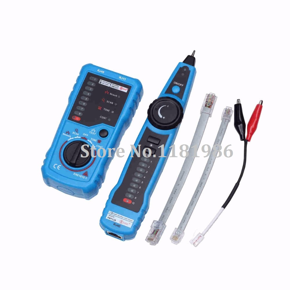 Bside FWT11 Handheld Wire Tracker RJ45 RJ11 Network Telephone Cable ...