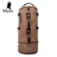 New Arrival Canvas Leisure Backpack Men Handbags Vintage Laptop Travel Large Capacity Notebook Multifunction Backpack Male
