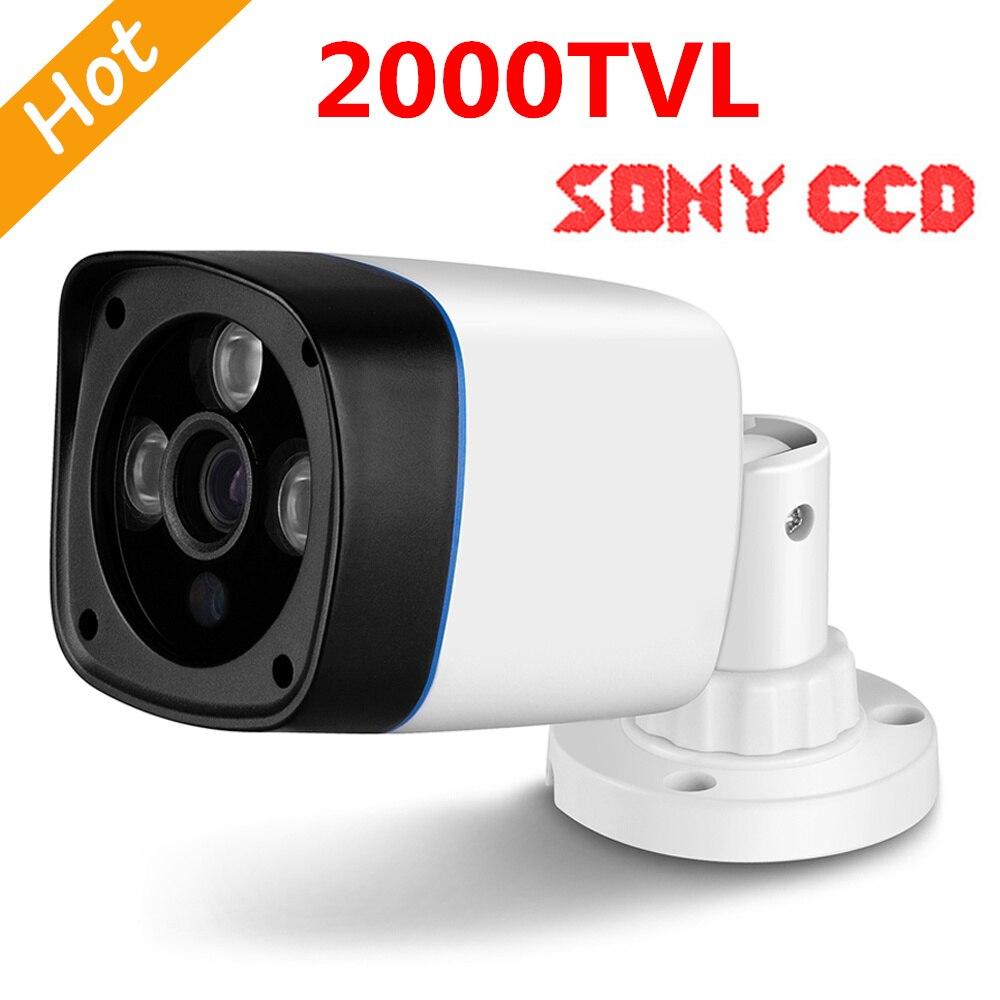 3 IR leds 2000 TVL Sony CCD IR 50 Meters Outdoor Surveillance Security Camera Outdoor CCTV Camera Freeship hot promotion 2000tvl sony ccd ir outdoor